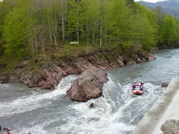 Не сложный сплав по реке фото от СВ-Астур, не сложный сплав по Белой