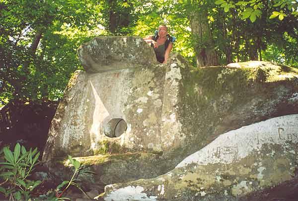 Меегалиты. Солох-аульские дольмены, фото от СВ-Астур