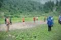 Волейбол на приюте Фишт