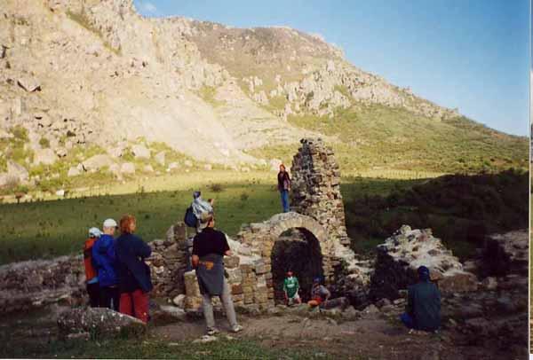 Крепость Фуна. Крым, Алушта (Лучистое), средневековая крепость Фуна