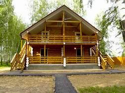 Размещение...  Отдых в Костромской области.  Дом отдыха Волжский прибой.