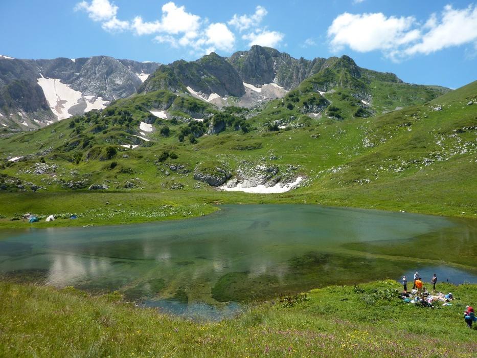 Озера Кавказа, озеро Псено-Даг фото от СВ-Астур