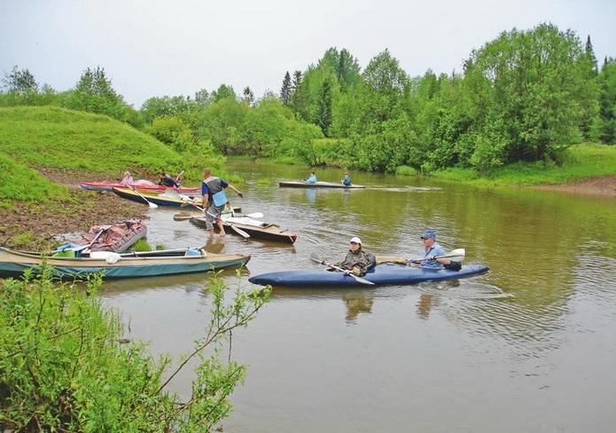 Река Кама, сплав по Каме