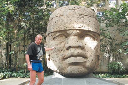 Загадочная голова в Ла-Венте весит десятки тонн