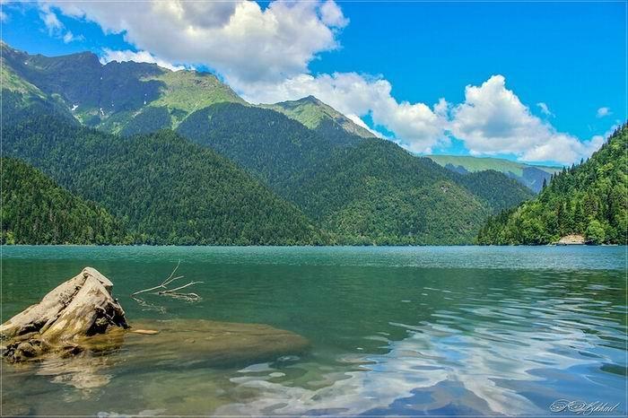 Озеро Рица в Абхазии, поездка на озеро Рица