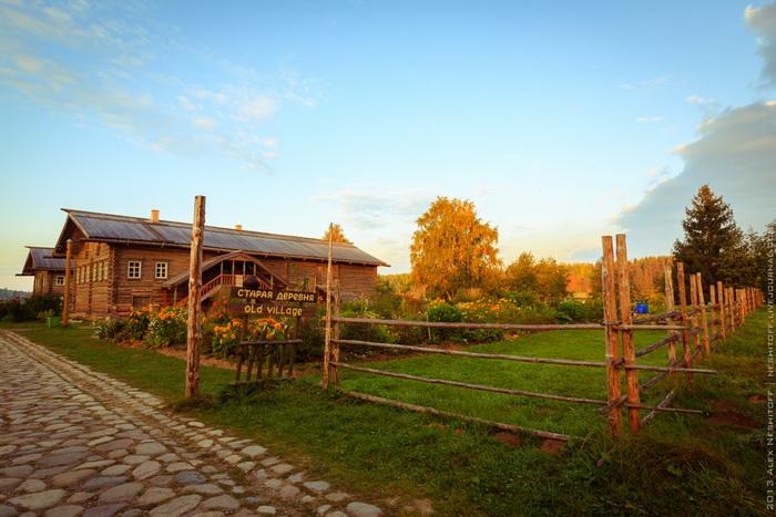 Мандроги деревня