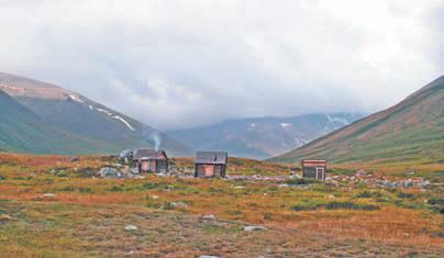 Алтай. плато Укок, Домики с подогревом на Джумалинских источниках