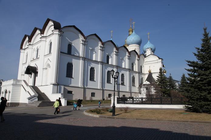Казанский кремль, православный храм. Казань фото от СВ-Астур