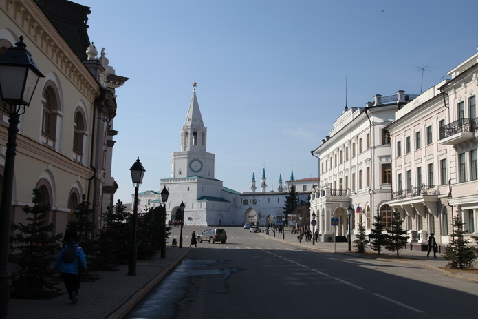 Казань - вид на кремль. Казань фото от СВ-Астур
