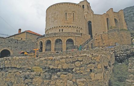Крепость Скандерберга в Круе (Албания)
