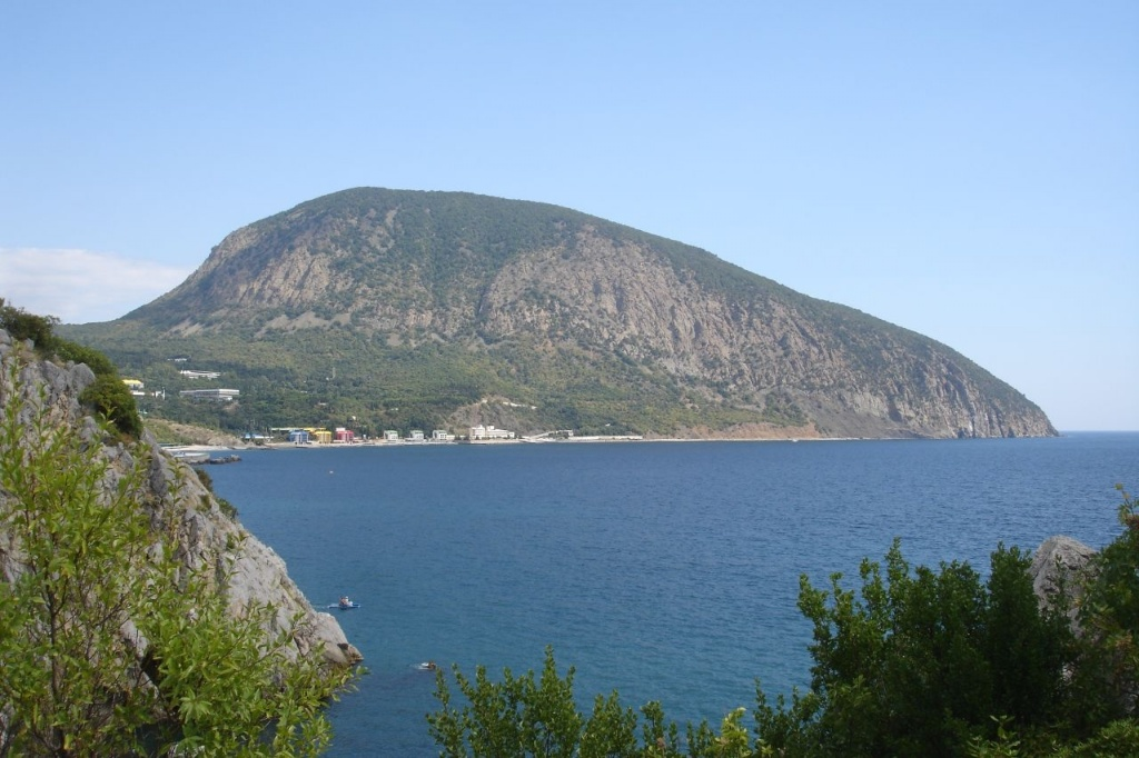Гора Аю-Даг (Медведь-гора) Крым