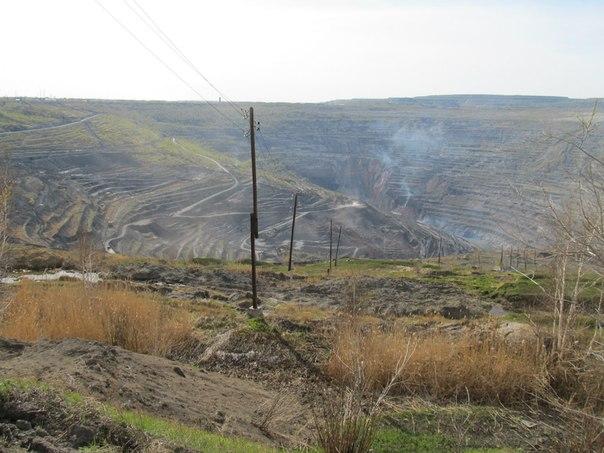 Коркинский угольный карьер