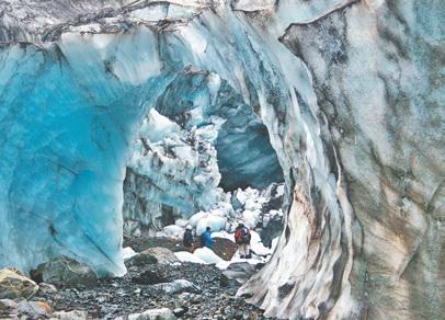 Исландия. На леднике Ватнаёкудль. Ледяной дворец у истоков Волги