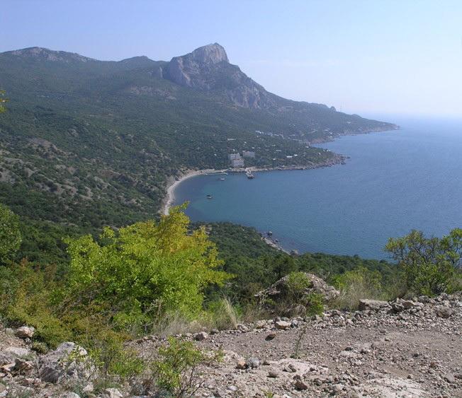 Бухта Ласпи, Крым, фото
