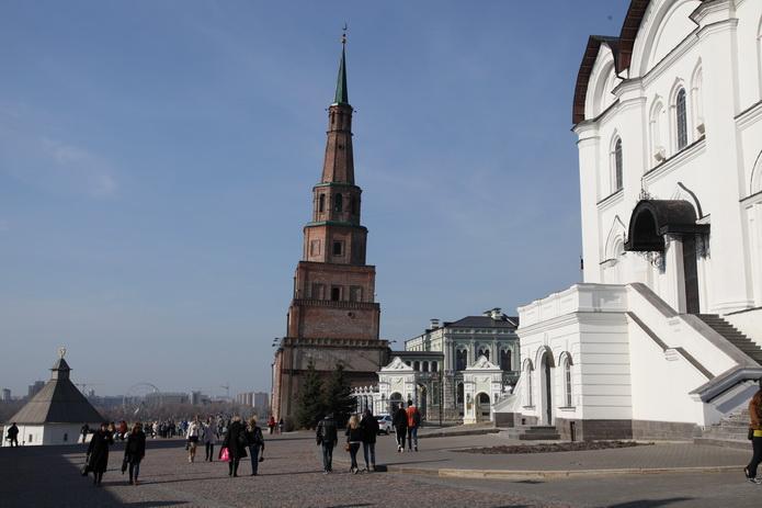 Казанский кремль. Казань фото от СВ-Астур