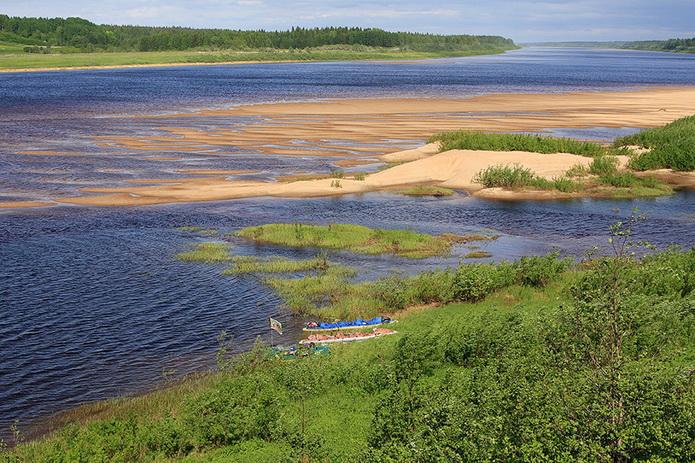 Река Пинега, сплав по Пинеге