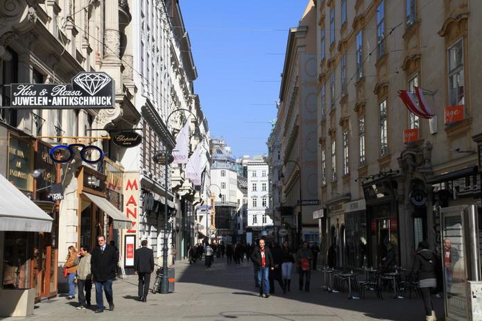 Вена, улицы Вены, фото города от СВ-Астур