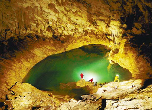 Спелеопоход. Фото пещера - спелеопоход