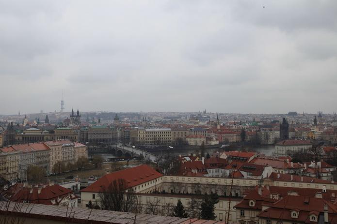 Чехия, Прага. Панорама Праги. Фото Чехии от СВ-Астур