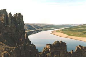 Река Оленек
