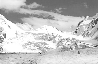 Тянь-Шань, Перевалы Академика Фрумкина и Академика Фрумкина Западный с севера