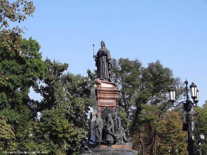 Памятники центра Краснодара