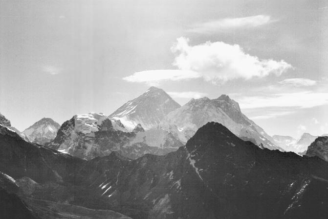 Непал, Эверест. Самая высокая гора — это Эверест