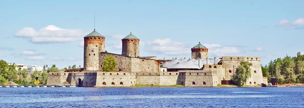 Финляндия. Крепость Олавинлинна. Круиз по Финляндии.