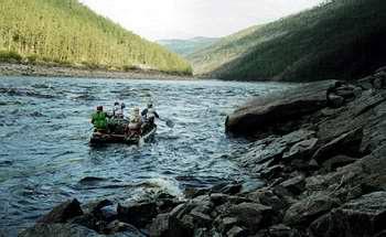Сплав по рекам Якутии