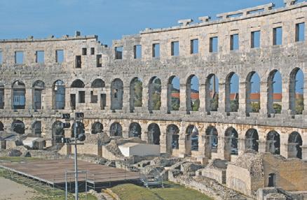 Амфитеатр в Пуле (Хорватия)