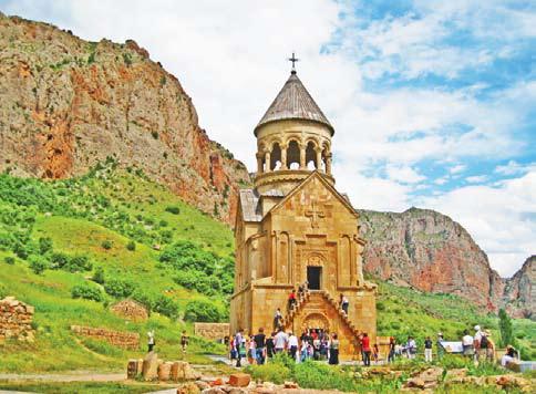 Армения. Церковь Буртелашен (1339 г.) в монастыре Нораванк