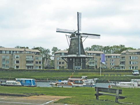 Ветряная мельница – визитная карточка Нидерландов