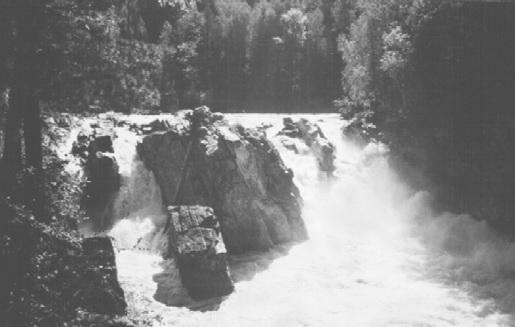 Река Снежная, Водопад Хармын-Дулю