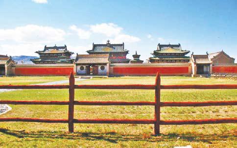 Монголия, храм Эрдэни-Дзу