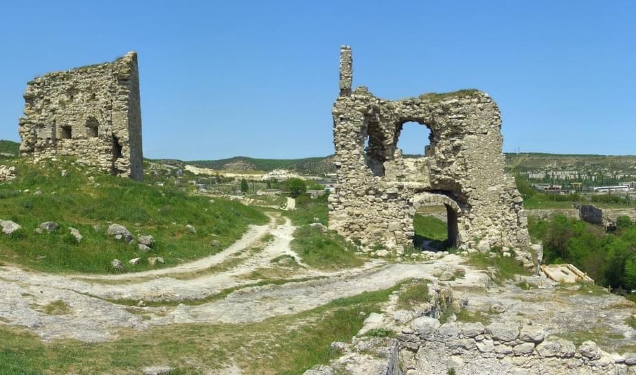 Каламита, крепость, Крым