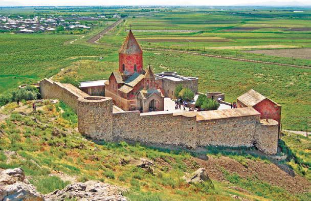Армения. Монастырь Хор-Вирап в Армении