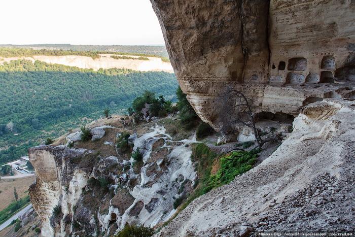 Качи-Кальон. Крым, пещерный город, фото