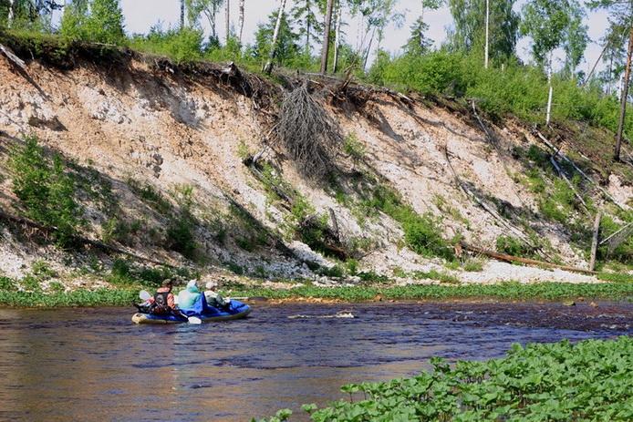 Сплав по Пинеге, река Пинега