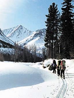 Байкальский хребет зимой