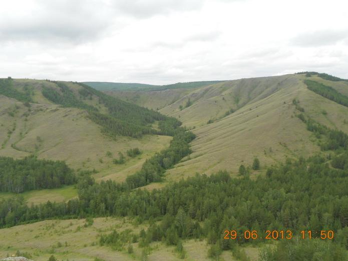 Хребет Нурали на Урале - фото от СВ-Астур