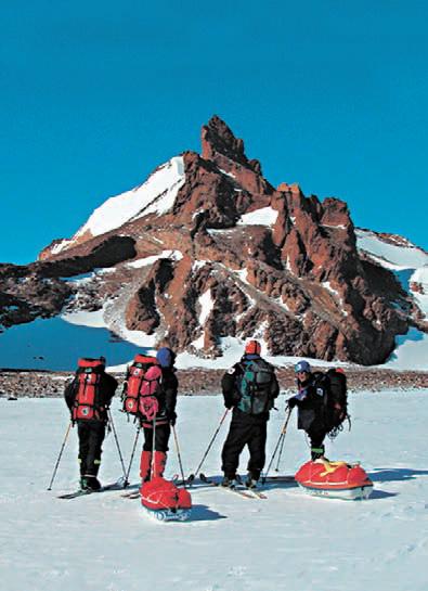 Антарктида, горы Антарктиды