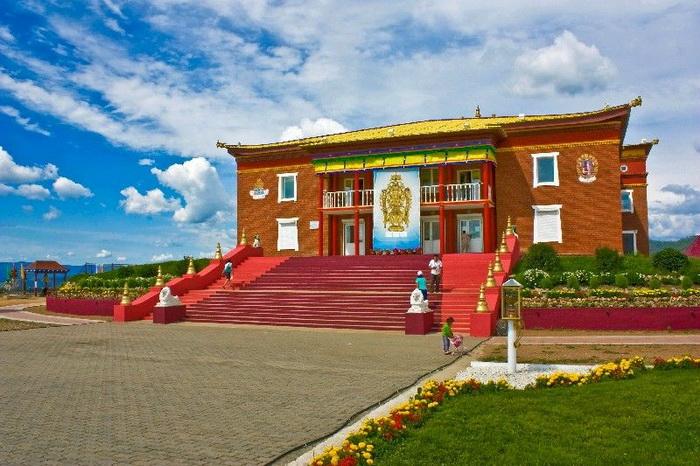 Дацан Ринпоче-багша в Улан-Удэ