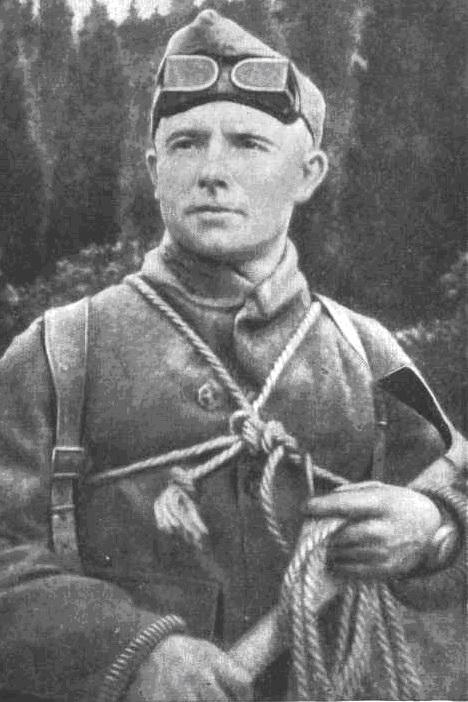 Абалаков - альпинист и художник Евгений Абалаков
