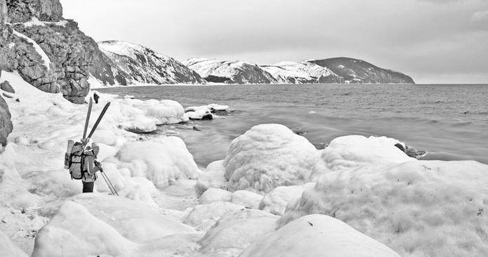 Татарский пролив. Фото татарского пролива в марте.