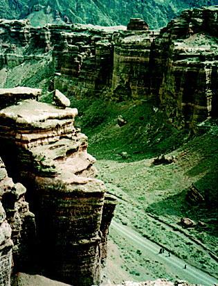 Казахстан, каньон Чарына