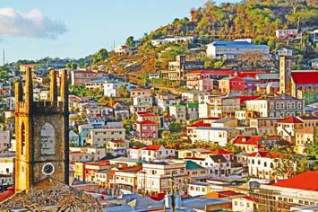 Гренада. Столица Гренады Сент-Джорджес
