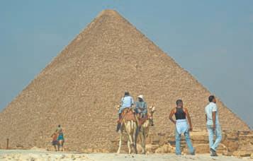 Египет. Пирамиды в Гизе (Египет)