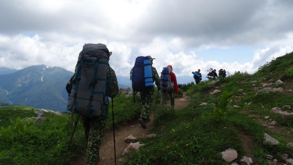 Пеший поход из Адыгеи к морю, маршрут 30 от СВ-Астур
