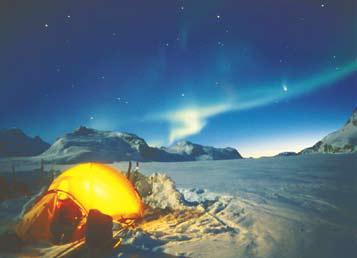 Гренландия, Полярное сияние в Гренландии – не редкость