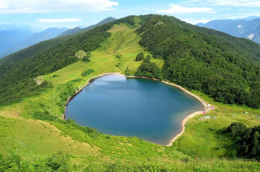 Озера Кавказа, озеро Хуко